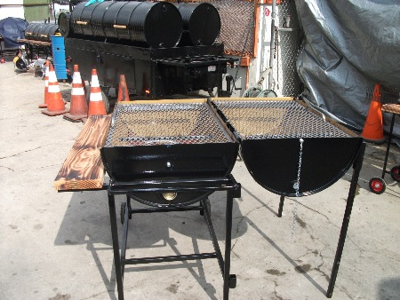 Pit City Pits Bbq Grills Single Barrel Bbq Grills