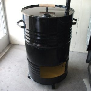 sku#36) New design capable of smoking (10) turkey and (2) hams can be used for home or commercial code 000572-custom-vertical-smoker