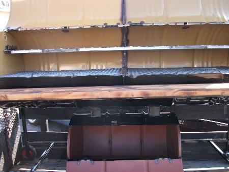 sku#44 (2) 55 gal barrel with 30 gal. barrel smoker (2) days order code 02409783-CUSTOM MADE) SAME AS ABOVE