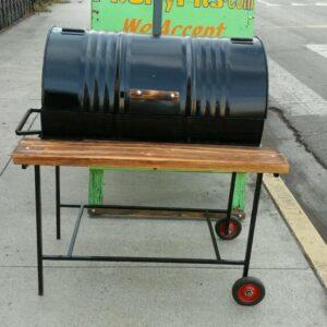 55 Gallon BBQ Barrel
