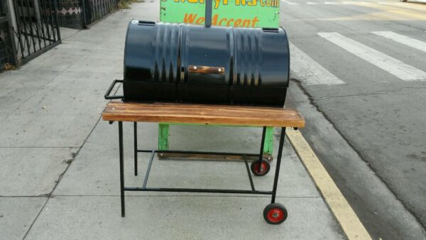 55 Gallon BBQ Barrel
